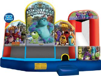 Inflatable bounce houses Games to Go Games rental