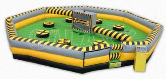 Wipeout prom games rental