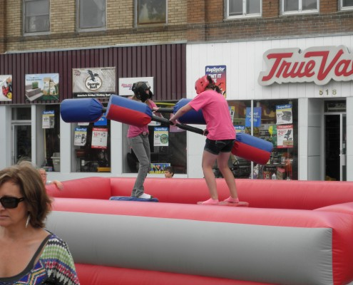 jousting inflatable fargo rental