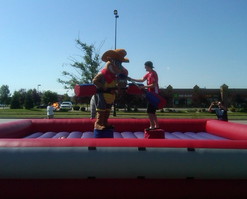 jousting inflatable fargo
