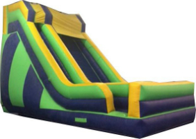 large inflatable slide rental