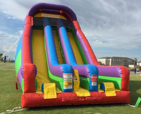 inflatable tall slide rental