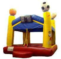 sports inflatable rental