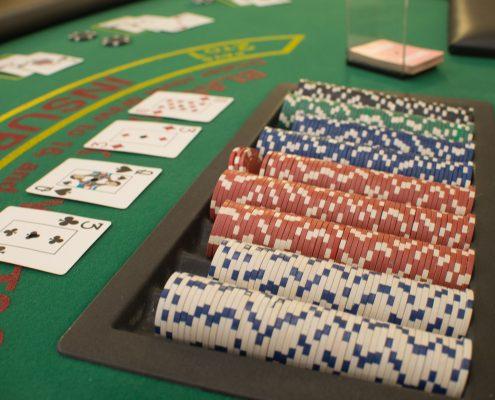 blackjack rental casino night