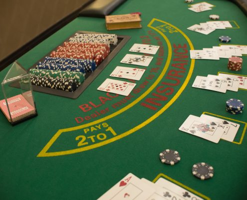 blackjack rental