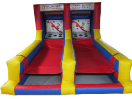 dual skiball rental game