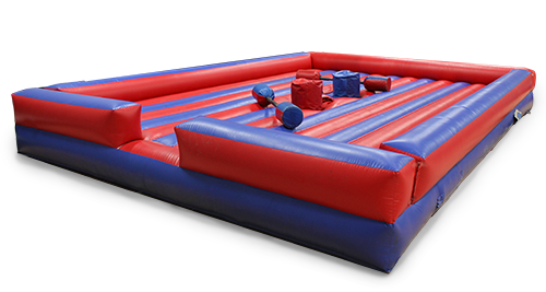 gladiator inflatable rental