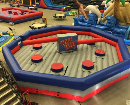 Wipe Out Inflatable Rental