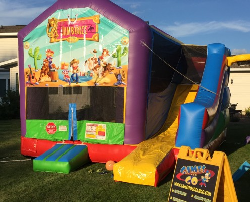 childrens party rental games