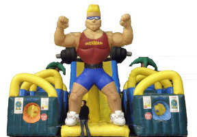 inflatable strong man game