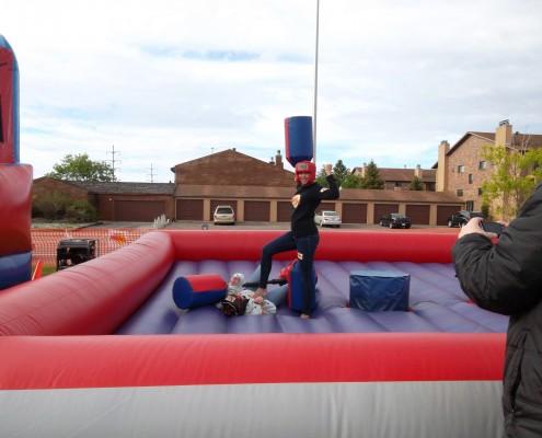 jousting inflatable fargo rental
