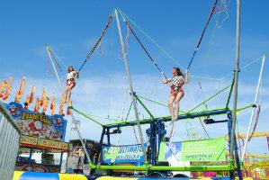 bungee jump trampoline rental