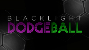 blacklight dodgeball game