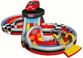 crash course inflatable rental