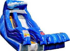 wild wave inflatable slide