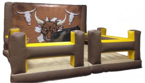 mechanical bull inflatable rental