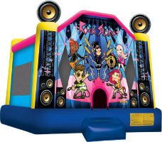 rock stars bounce house rental