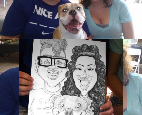 caricature artist for parties