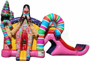 candy land inflatable rental