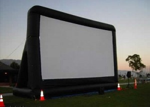 big screen rental
