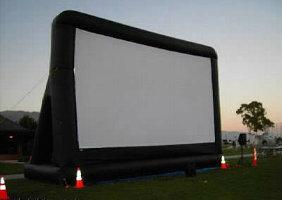 movie screen rental