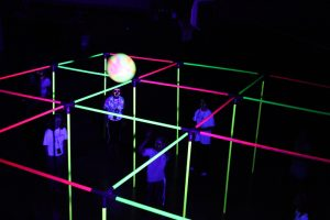 9 square in the air blacklight rental
