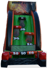 Basketball Inflatable game rental
