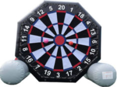 inflatable darts rental