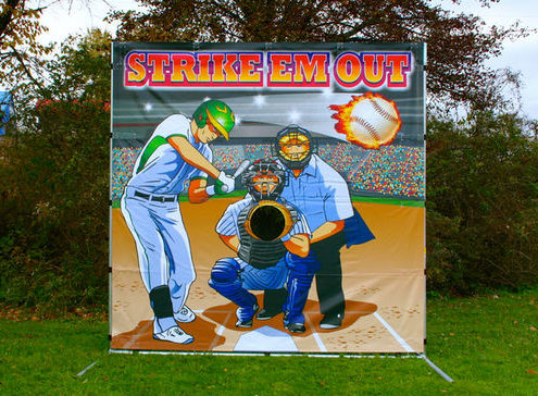 Baseball Toss - Strike Em Out Game