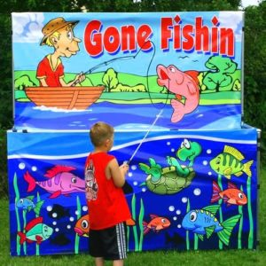 fishing party game rental