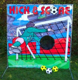 soccer game party rental