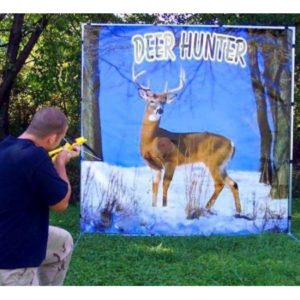 deer hunter party game rental